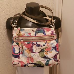 Coach Multi color Messenger Bag